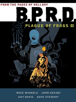 cover image of B.P.R.D. (2002), Omnibus Volume 4