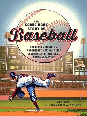 cover image of The Comic Book Story of Baseball