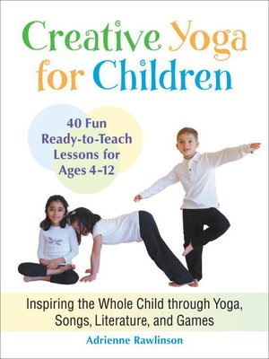 cover image of Creative Yoga for Children
