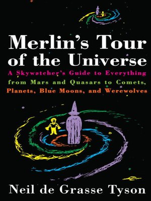 cover image of Merlin's Tour of the Universe