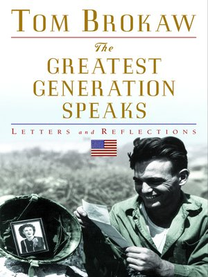cover image of The Greatest Generation Speaks