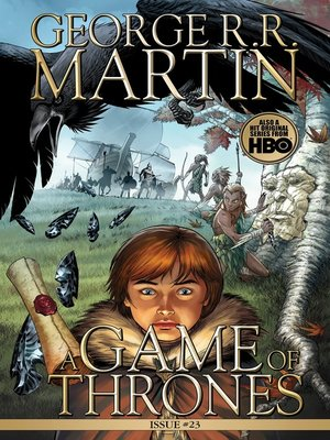 cover image of A Game of Thrones: Comic Book, Issue 23
