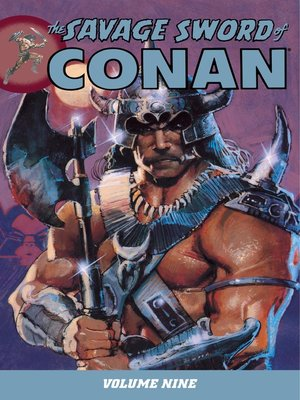 cover image of Savage Sword of Conan, Volume 9