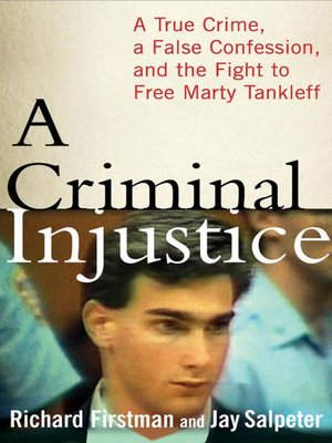 cover image of A Criminal Injustice