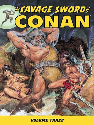 cover image of Savage Sword of Conan, Volume 3