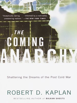 cover image of The Coming Anarchy