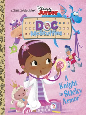 cover image of A Knight in Sticky Armor (Disney Junior