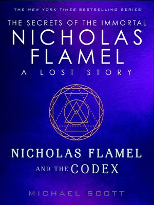 cover image of Nicholas Flamel and the Codex