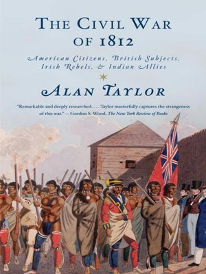 cover image of The Civil War of 1812