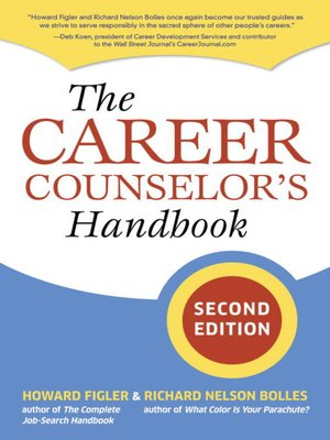 cover image of The Career Counselor's Handbook