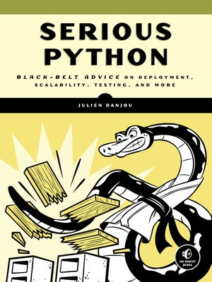 cover image of Serious Python
