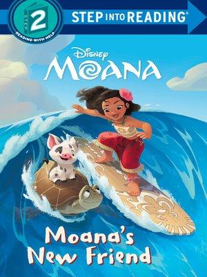 cover image of Moana's New Friend (Disney Moana)