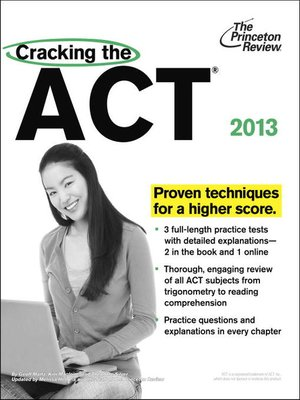 cover image of Cracking the ACT