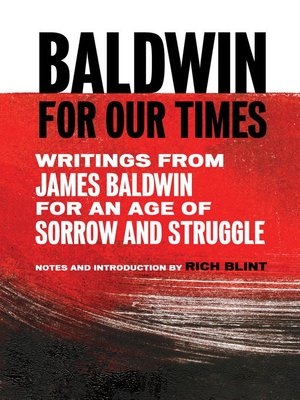 cover image of Baldwin for Our Times