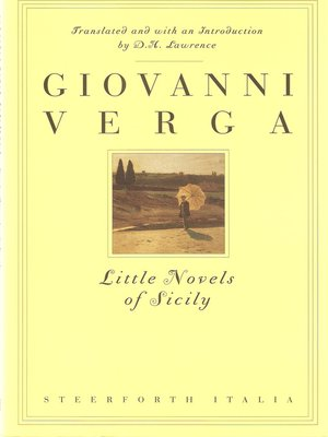 cover image of Little Novels of Sicily