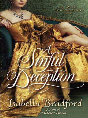 cover image of A Sinful Deception