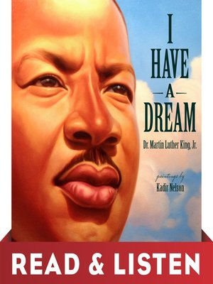 cover image of I Have a Dream