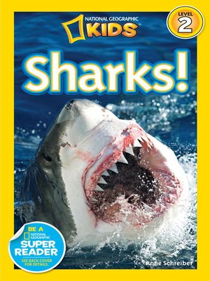 cover image of National Geographic Readers: Sharks
