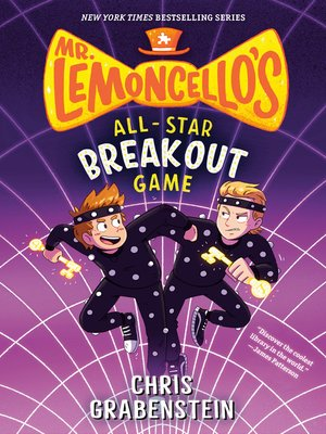 cover image of Mr. Lemoncello's All-Star Breakout Game