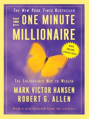 cover image of The One Minute Millionaire
