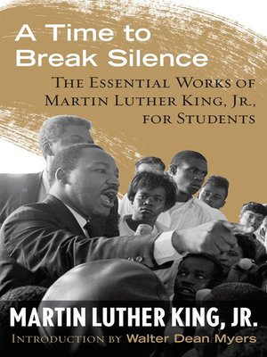 cover image of A Time to Break Silence