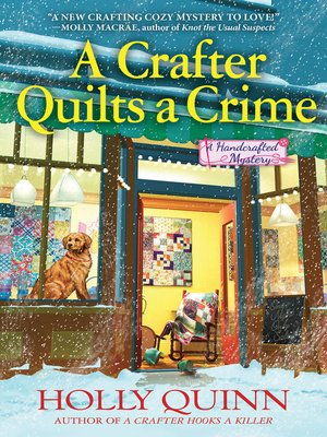 A Crafter Quilts a Crime Book Cover