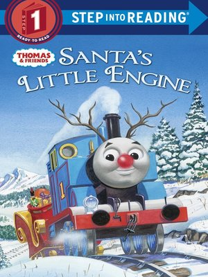 cover image of Santa's Little Engine  (Thomas & Friends)