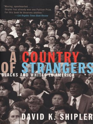 cover image of A Country of Strangers