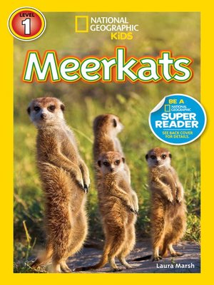 cover image of National Geographic Readers: Meerkats