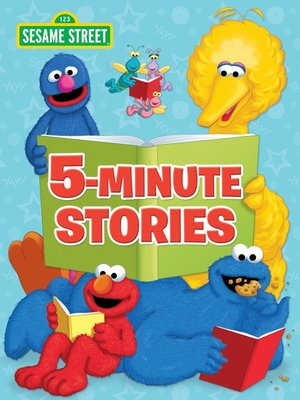 cover image of Sesame Street 5-Minute Stories (Sesame Street)