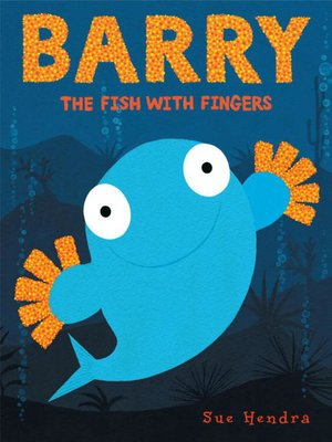 cover image of Barry the Fish with Fingers