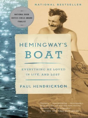 cover image of Hemingway's Boat