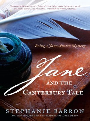 cover image of Jane and the Canterbury Tale