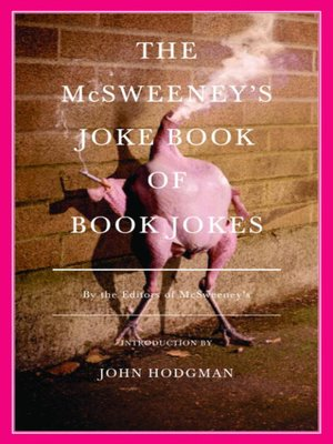 cover image of The McSweeney's Joke Book of Book Jokes