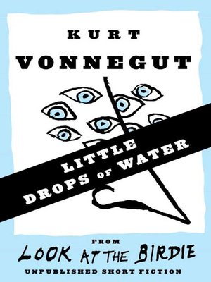 cover image of Little Drops of Water (Stories)