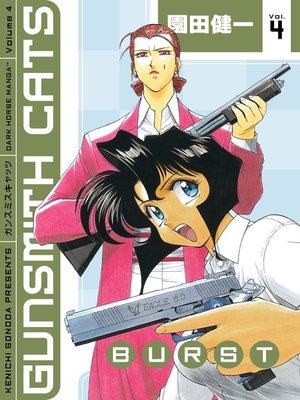 cover image of Gunsmith Cats: Burst, Volume 4