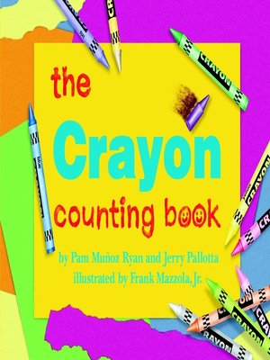 cover image of The Crayon Counting Book