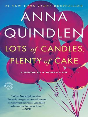 cover image of Lots of Candles, Plenty of Cake