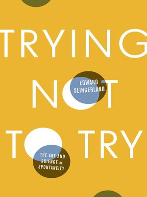 cover image of Trying Not to Try