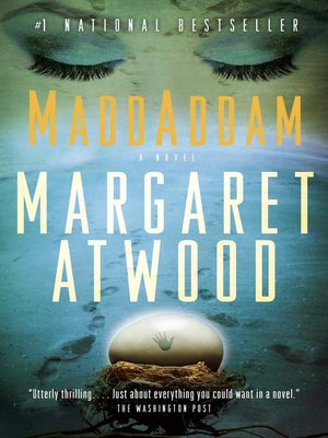 cover image of MaddAddam