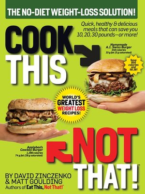 cover image of Cook This, Not That! World's Greatest Weight Loss Recipes