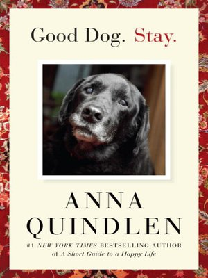 cover image of Good Dog. Stay.