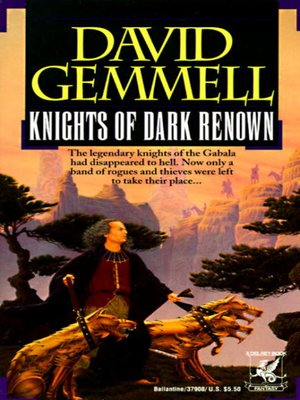cover image of Knights of Dark Renown