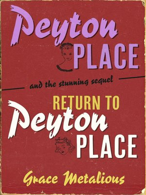 cover image of Peyton Place + Return to Peyton Place