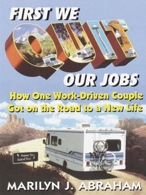 cover image of First We Quit Our Jobs