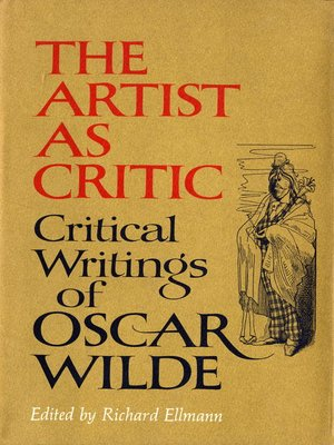 cover image of The Artist As Critic
