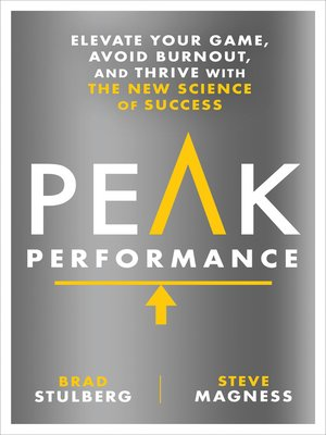 cover image of Peak Performance