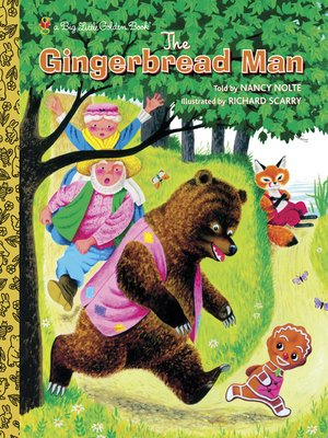 cover image of Richard Scarry's the Gingerbread Man