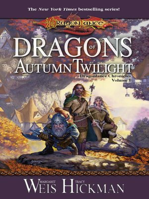 cover image of Dragons of Autumn Twilight