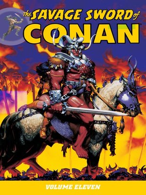 cover image of The Savage Sword of Conan, Volume 11